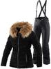 Тёплый горнолыжный костюм Joline Black Winity женский