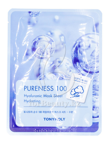 Tony Moly Pureness 100 Hyaluronic Acid Mask Sheet