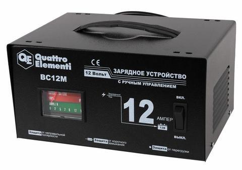 Зарядное устройство QUATTRO ELEMENTI BC 12M (12В, 12А) (770-094)