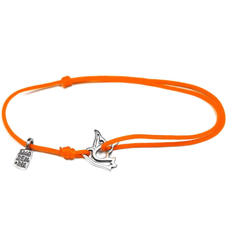Dove bracelet, sterling silver
