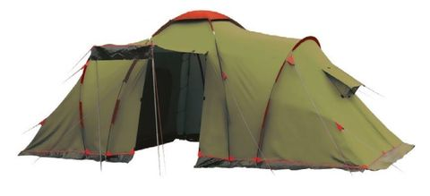 Кемпинговая палатка Tramp Lite Castle 6 (зеленый)