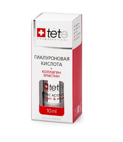 МИНИ Гиалуроновая кислота + Коллаген и эластин мини / TETe MINI Hyaluronic acid + Collagen and Elastin 10 ml