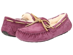 UGG Moccasins Dakota for Women Dark Pink (с мехом)