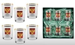 Подарочный набор стаканов для виски «Официальный приём»