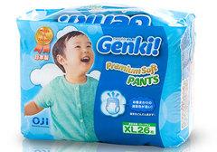 Подгузники-трусики GENKI (12-17кг) XL, 26шт