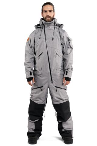 Cool Zone KITE мужской комбинезон для сноуборда серый