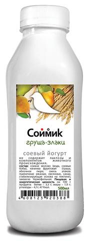 Йогурт соевый Груша-яблоко-злаки 500 мл