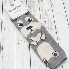 Носки Пёсик Серый
