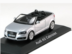 Audi A3 Cabriolet 2008 ice silver Minichamps 1:43
