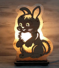Солевая лампа Зайчик 1,3 кг