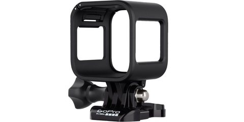 Крепление-рамка для камеры  GoPro Session (ARFRM-002) вид спереди сбоку