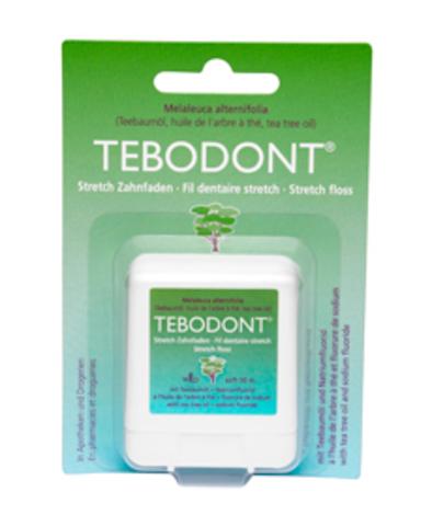Зубная нить эластичная Тебодонт Tebodont Dr.Wild, 50 м