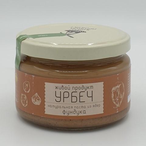 Урбеч из ядер фундука ЖИВОЙ ПРОДУКТ, 225 гр