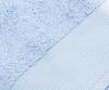 Набор полотенец 3 шт Cassera Casa Helios и халат голубой