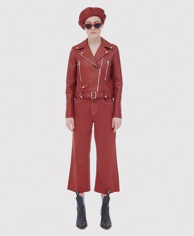 Кожаная куртка Red Apple