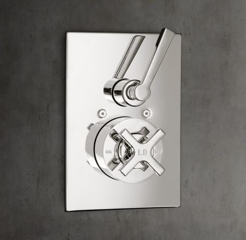 1940 Fleetwood Balanced Pressure Shower Valve & Trim Set with Diverter