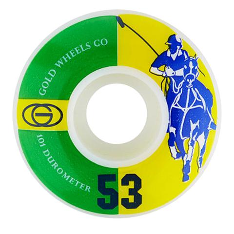 Колёса GOLD WHEELS Karat Club (Green/Yellow) 101A
