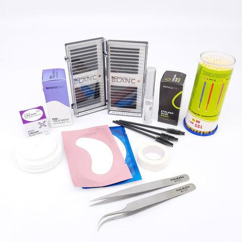 Стартовый набор для наращивания ресниц Novasecret Blanc Basic