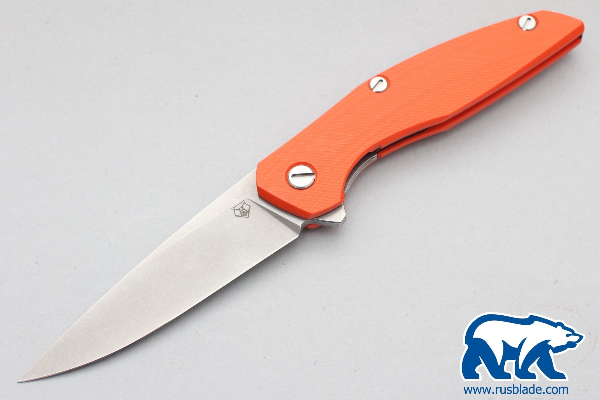 Shirogorov 111 440c G10 3D orange