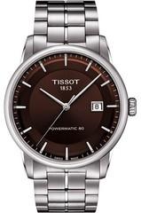 Мужские швейцарские наручные часы Tissot Luxury Powermatic T086.407.11.291.00