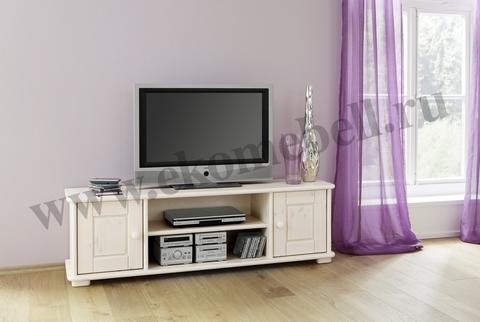 Тумба под TV деревянная