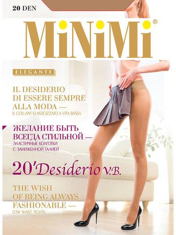 Колготки Desiderio 20 Vita Bassa Minimi