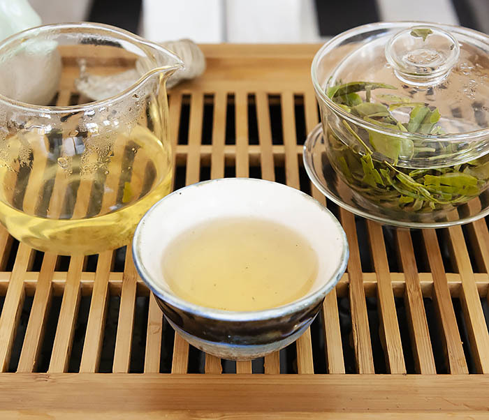 TEA-CH104 Китайский зеленый чай «Колодец Дракона» (Лун Цзин, 10 гр) фото 14