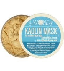 Kaolin Mask (Каолиновая маска ДЛЯ ПРОБЛЕМНОЙ КОЖИ лица), 150g ТМ Savonry