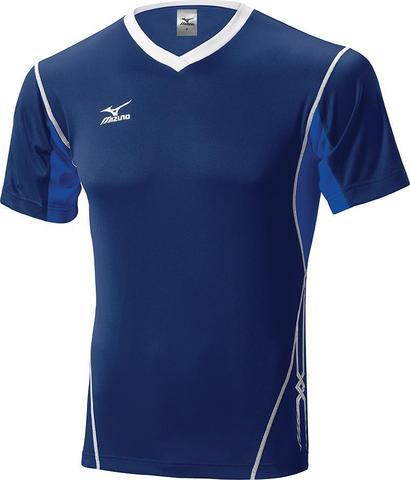 Футболка волейбольная Mizuno Premium Top Tall мужская dark blue