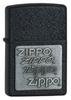 Зажигалка ZIPPO Black Crackle латунь/порошковое покрытие (363) зажигалка zippo founder