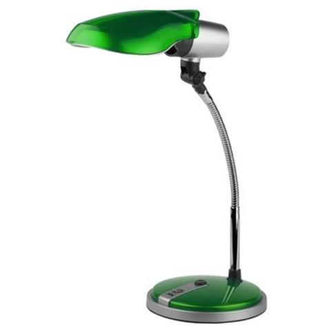 Светильник настольный Эра NE-301, зеленый, люминесцентный, 15W