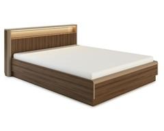 Кровать ИРАКЛИЯ-1600 с подсветкой и подъемным механизмом