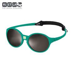 Очки солнцезащитные детские Ki ET LA Jokakid's 4-6 лет. Emerald Green (изумрудный)