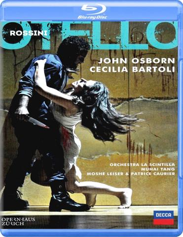Cecilia Bartoli, John Osborn / Rossini: Otello (Blu-ray)