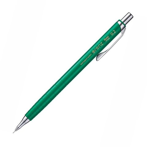 Механический карандаш 0,2 мм Pentel Orenz LE зелёный (блистер)