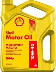Shell Motor Oil 10W-40 4л