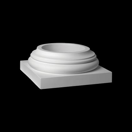 База (колонна) Европласт из полиуретана 4.43.101, интернет магазин Волео