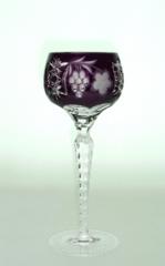 Рюмка для ликера 60 мл Ajka Crystal Grape фиолетовая