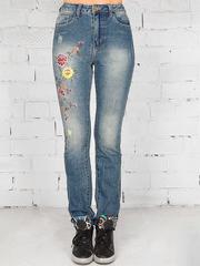 6027 джинсы женские, синие