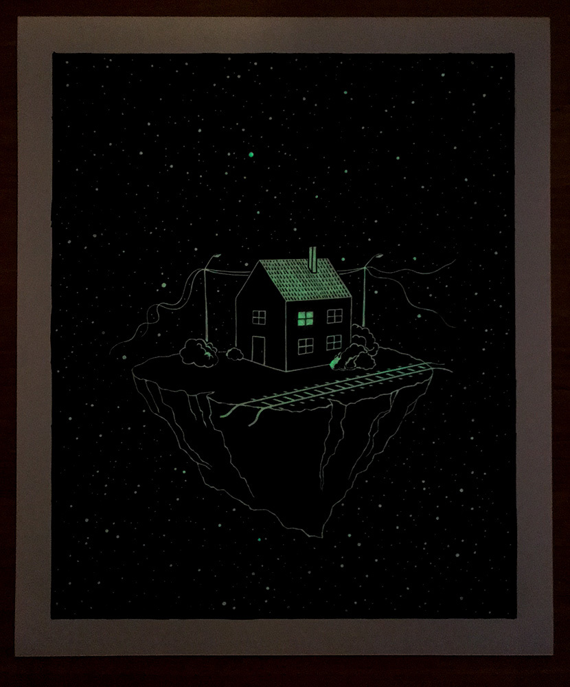 The Stationmaster's House (Glowing)