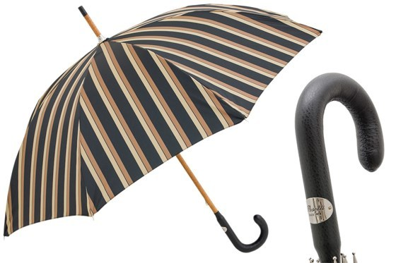 Зонт-трость Pasotti Best Gentleman Umbrella, Италия (арт.142 Alfred-8 P).