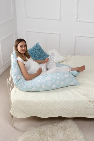 Подушка для беременных U360 (холлофайбер) 10553 звезды