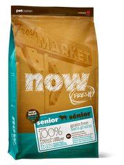 Беззерновой корм для пожилых собак и собак крупных пород, NOW FRESH, Контроль веса, с индейкой, уткой и овощами