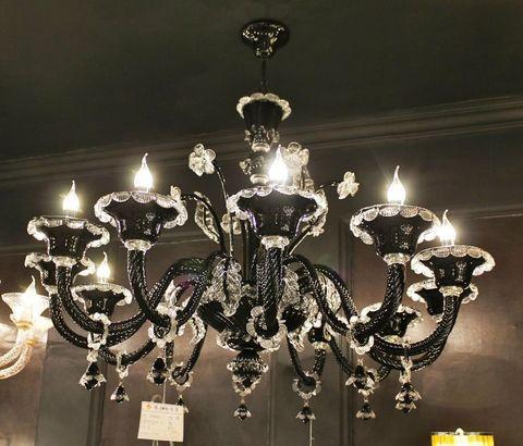 murano chandelier  ARTE DI MURANO 12-14  by Arlecchino Arts ( HK)