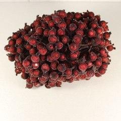 Пучок ягодок 1,2 см в сахаре.