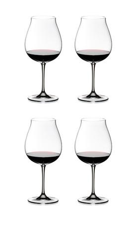 Набор бокалов для красного вина 4шт 800мл Riedel Vinum XL Pay 3 Get 4 Pinot Noir