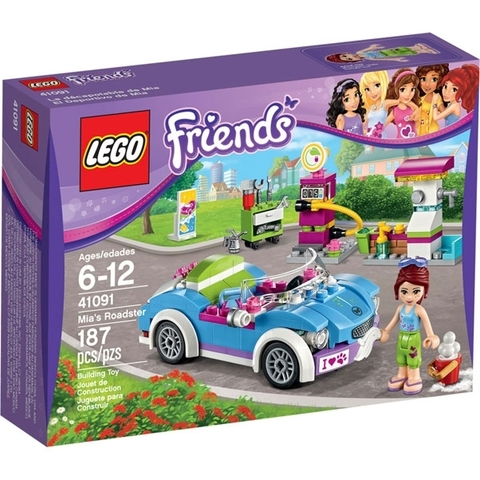 LEGO Friends: Кабриолет Мии 41091