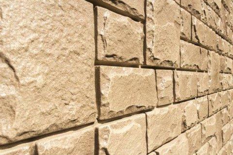 Фасадная панель Гранд Лайн Я-ФАСАД Камень Бронза 1407х327 мм