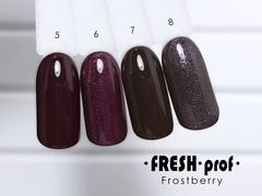 Гель-лак  Fresh prof Frost Berry FB №08