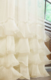Готовая штора Мадам Фир-Фир (капучино)